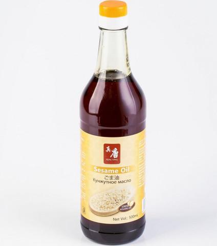 Кунжутное масло Real Tang нерафинир 500мл Китай стекло