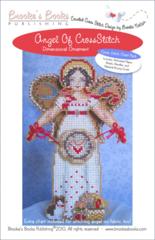 Brooke`s Books Publishing Angel of Cross Stitch