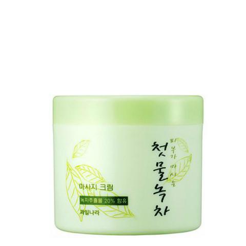 WELCOS Green Tea Крем массажный Green Tea Control Massage Cream 300 г