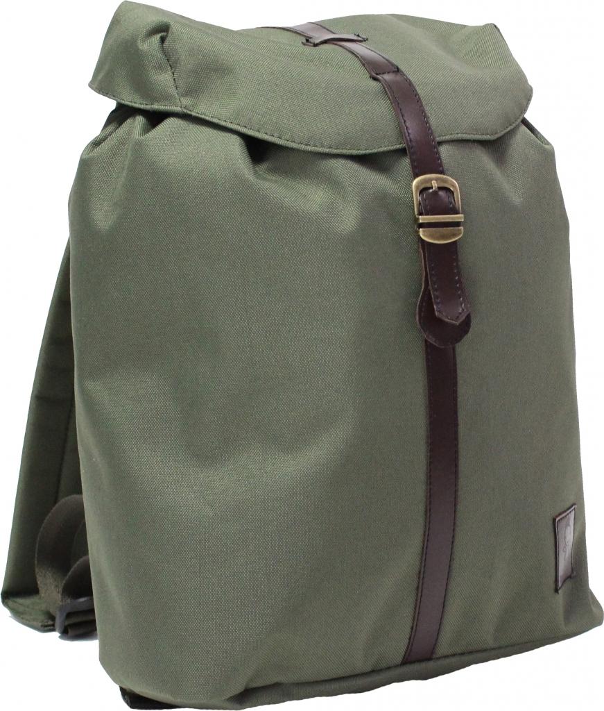 Городские рюкзаки Рюкзак Bagland Рюкзак с кожзамом 14 л. Хаки (0010366) 7402281d0ac9a8b55a599a5f69179d4a.JPG