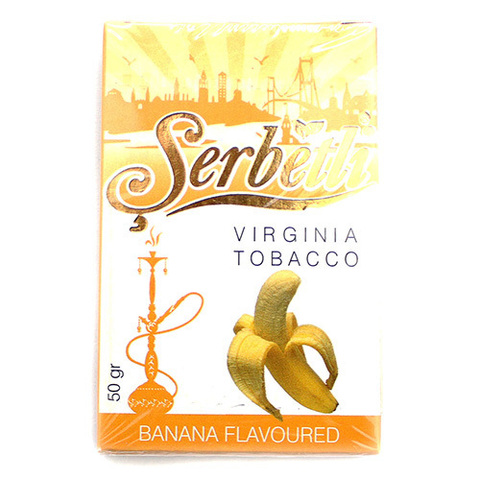 табак для кальяна Serbetli Banana 50 гр.