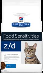 Ветеринарный корм для кошек Hill`s Prescription Diet z/d, при пищевых аллергиях