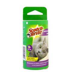 Ролик для чистки одежды 3М Scotch-Brite (запасной блок 56 листов)