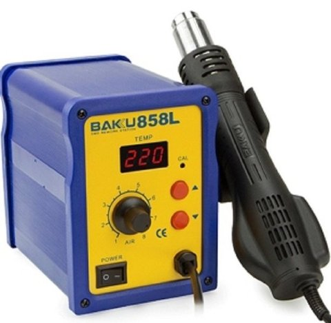 BAKU Rework Station BK-858L Single hot air gun + Temperature display