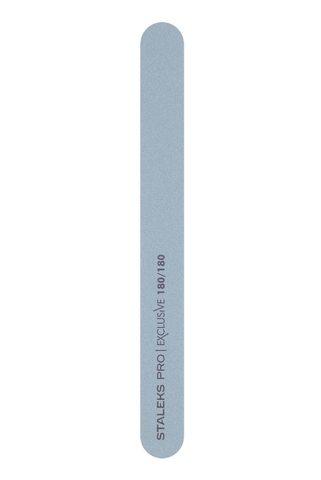 Пилка прямая минеральная для ногтей EXCLUSIVE 180/180