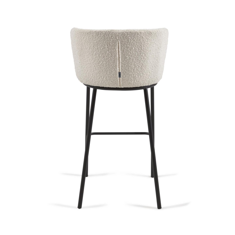 Барный стул Ciselia белый - вид 5
