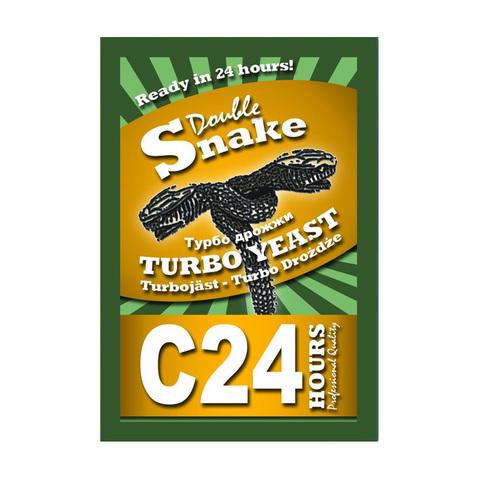 Спиртовые дрожжи DoubleSnake C24 Turbo, 175 г
