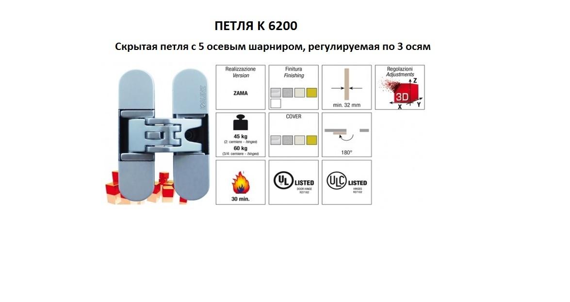 Петля К 6200
