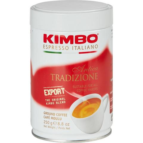 Кофе молотый Kimbo Antica Tradizione 250 г (жестяная банка)