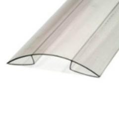 Профиль угловой для поликарбоната 4-6х6000мм б/цв.