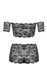 Романтичный комплект с кружевными шортами Espanita