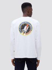 Лонгслив Alpha Industries Space Shuttle White (Белый)
