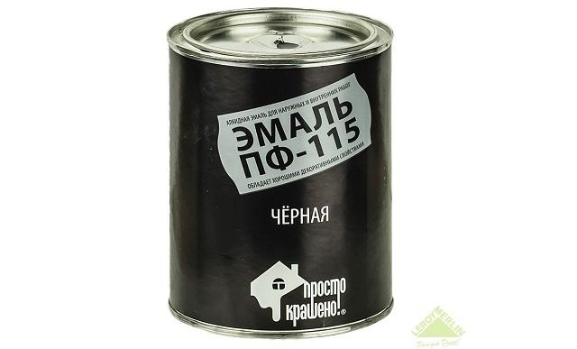 ПФ-115 черная НОРМА (0,9кг)