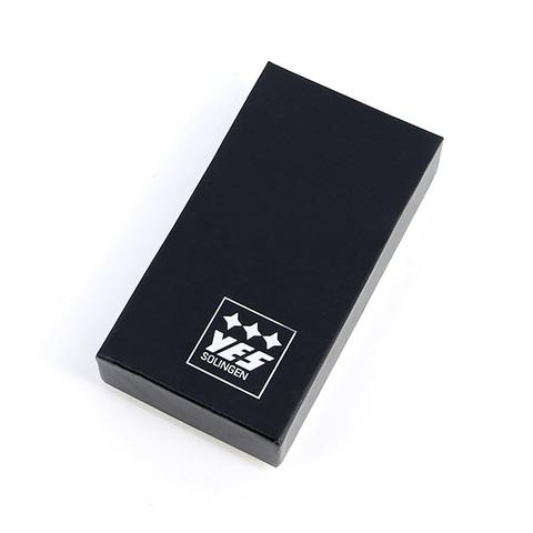 Маникюрный набор GD, 6 предметов, цвет красный, кожаный футляр