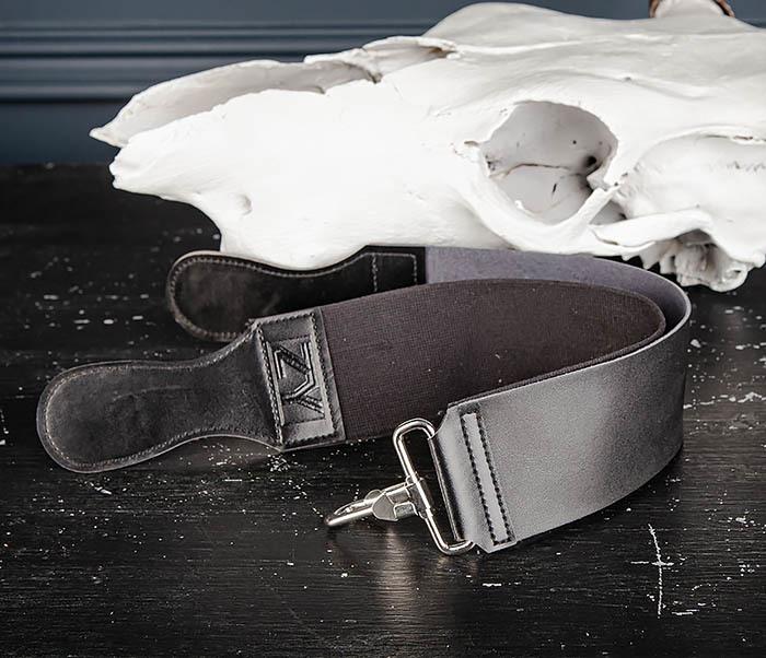 RAZ486 Двойной ремень для правки бритвы из кожи и текстиля фото 08