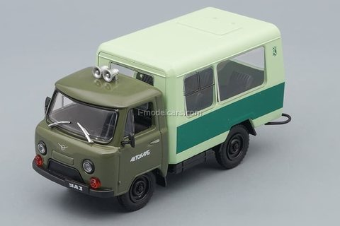 UAZ-3303 (T12.02) Kuban Auto Club 1987 1:43 DeAgostini Auto Legends USSR #275