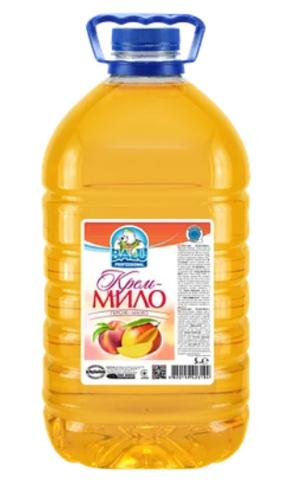 Крем-мыло BALU 5 л, Персик-Манго