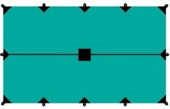 Тент Tramp 3*5м (зеленый)