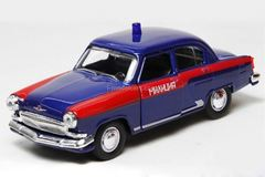 GAZ-21 Volga Police USSR blue AutoTime 1:43