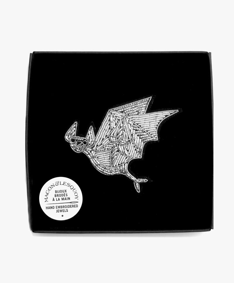 Брошь Flying Bat