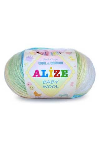 Baby wool batik design (alize)