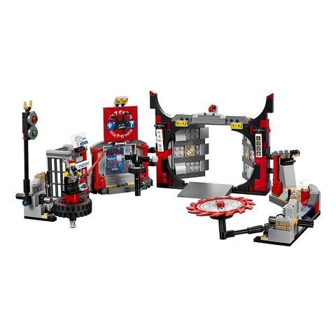 LEGO Ninjago: Штаб-квартира Сынов Гармадона 70640 — S.O.G. Headquarters — Лего Ниндзяго