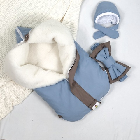 СуперМамкет. Конверт-одеяло всесезонное Мультикокон ®, Soft, blue stone