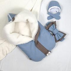 СуперМамкет. Конверт-одеяло всесезонное Мультикокон ®, Soft, blue stone вид 1