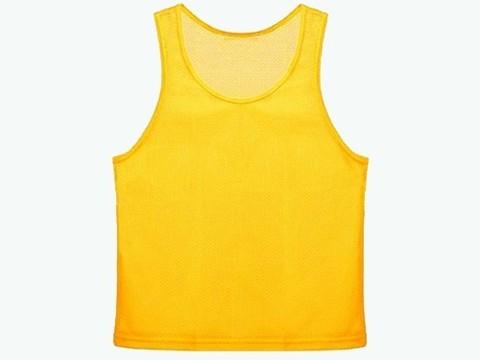Манишка сетчатая. Цвет: жёлтый. Размер S.