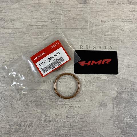 Прокладка глушителя медная CRF1000 18291-MM8-880