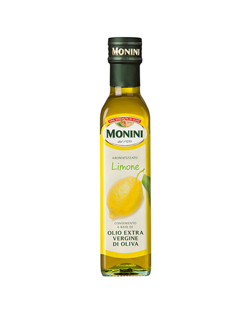 Масло оливковое Monini Экстра Вирджин Лимон 250 мл.