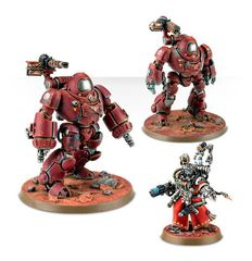 Adeptus Mechanicus Kastelan Robots. Все фигурки