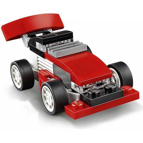 LEGO Creator: Красная гоночная машина 31055 — Red racer — Лего Креатор Создатель
