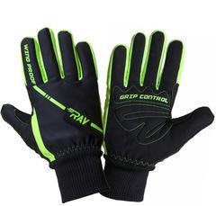 Теплые лыжные перчатки Ray Arctic Black-Green