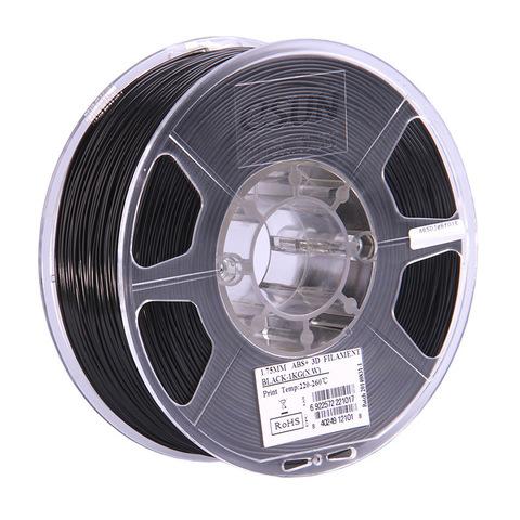 ESUN ABS+ 1.75 мм, 1 кг, черный