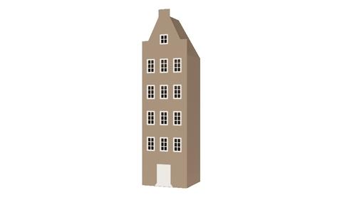 Шкаф-домик XL Амстердам - 3 (Н)