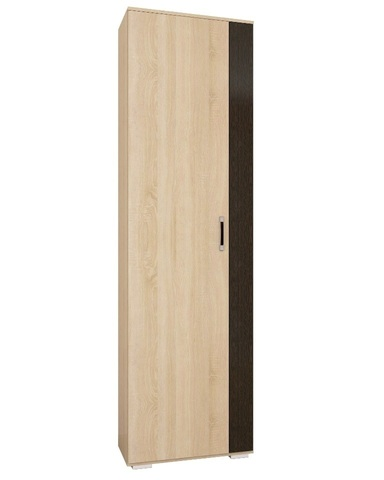 Шкаф ОСКАР-18 платяной дуб сонома / венге