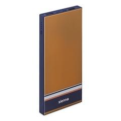Внешний аккумулятор с БЗУ Rombica NEO ARIA Wireless Sienna, 12 000 мАч, Qi, S-touch, PD, QC, Type-C, охра/синий