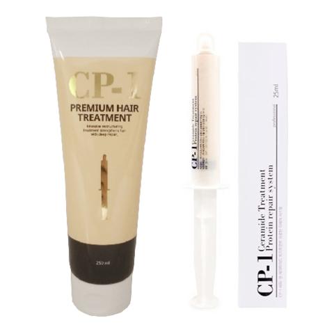 Протеиновая маска маска для лечения волос Esthetic House CP-1 Ceramide Treatment Protein Repair System, 25 мл