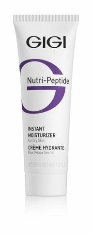 GiGi Nutri-Peptide  Instant Moist. DRY Skin Пептидный крем мгновенное увлажнение для сухой кожи, 50 мл.