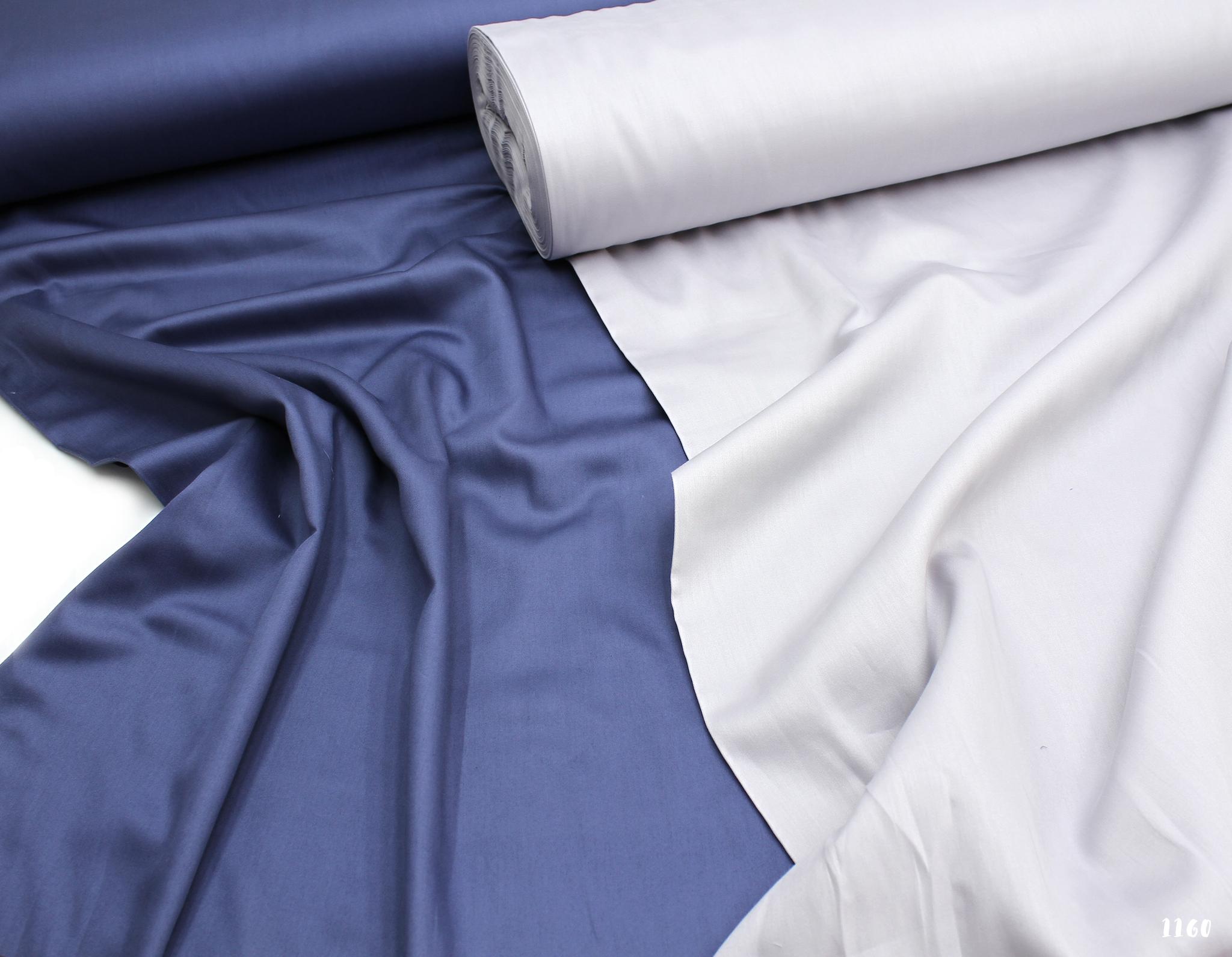 Пыльно-синий (сатин класса люкс, Турция),240 см