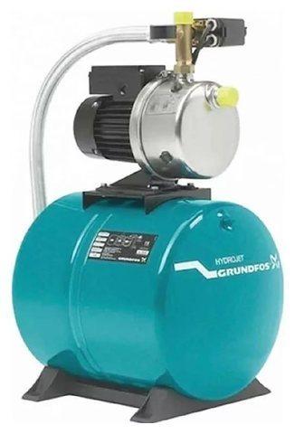 Насос - Grundfos HydroJet JP5 бак 60 литров