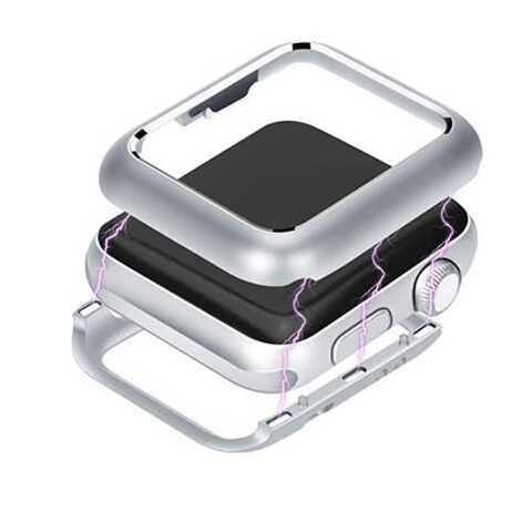 Чехол Apple watch 44mm Magnetic case /silver/