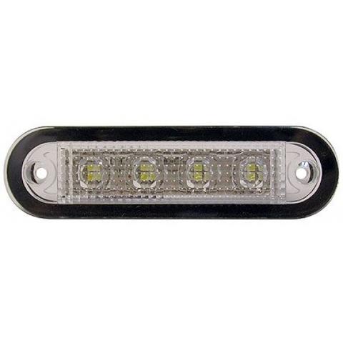 Светильник светодиодный прямоугольный, 15 диодов