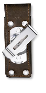 Мультитул Victorinox SwissTool Spirit 27, 105 мм, 27 функций, кожаный чехол с поворотным креплением