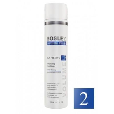 Bosley PRO Revive Синяя линия: Кондиционер для истонченных/неокрашенных волос (Сonditioner Thinning Non Color-Treated), 300мл/1л