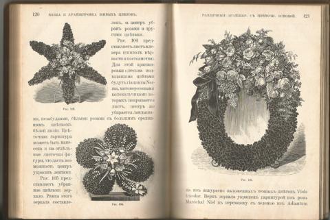 И.К. Шмидт  - Букеты, венки, гирлянды и аранжировка различных украшений и изделий из живых цветов