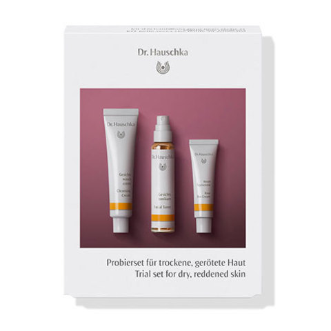 Набор пробников для сухой, обезвоженной кожи (Trial set for dry, reddened skin) Dr.Hauschka