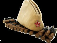 Пилотка военная взрослая (мужская)  ( 58 р. ) ГУ-6887