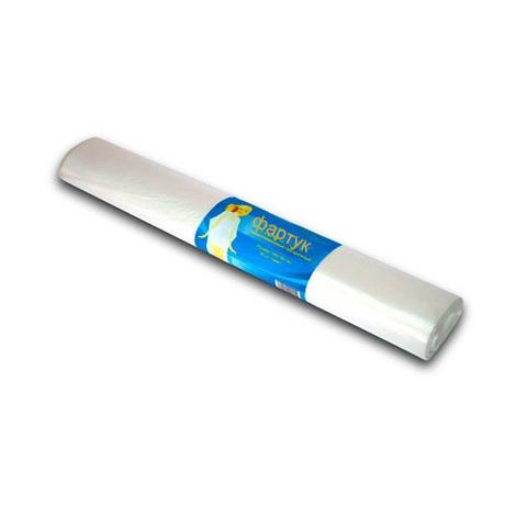 Пеньюар п/э 100*140 прозрачный White line рулон, 50 шт.